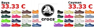 Crocs Baya für 33,33 €