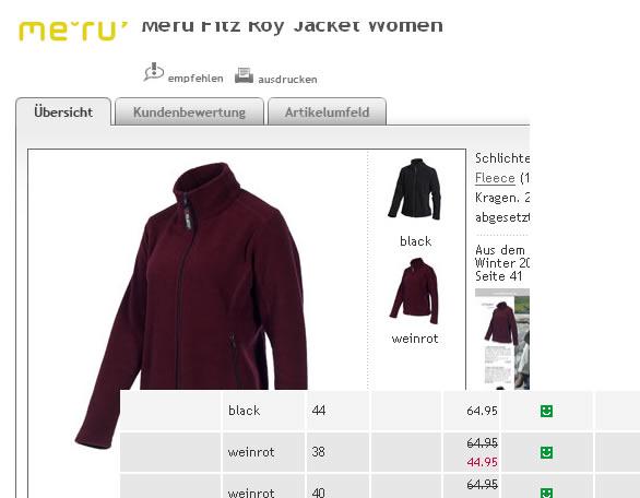 meru jacket