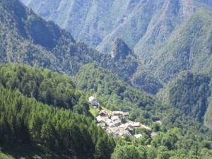 Eins der schönsten Dörfer der Welt - Villa Superiore im italienischen Rimella