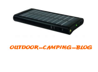 Solargerät mit Batterie