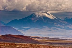 Vulkan aus der Ferne