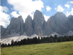 Die Geisslerspitzen in den Dolomiten