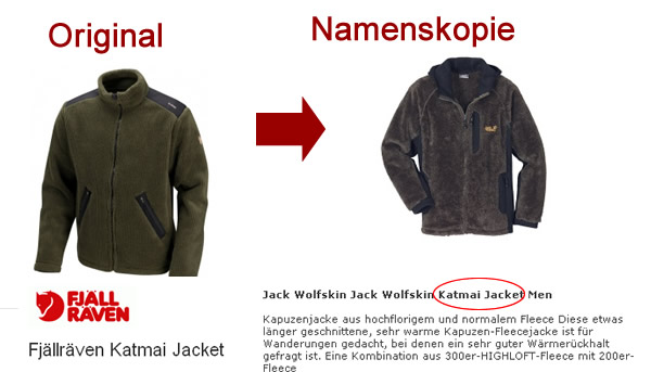 Fjäll Räven Katmai vs. Jack Wolfsin Katmai