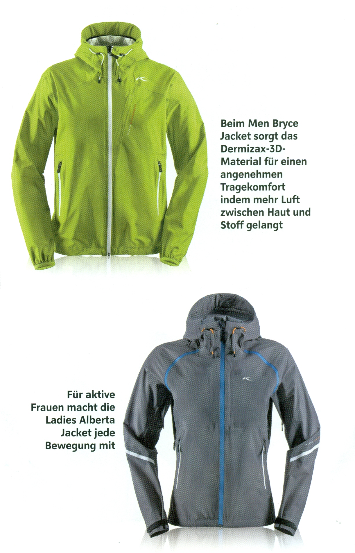 Kjus Men Bryce jacket & Ladies Alberta