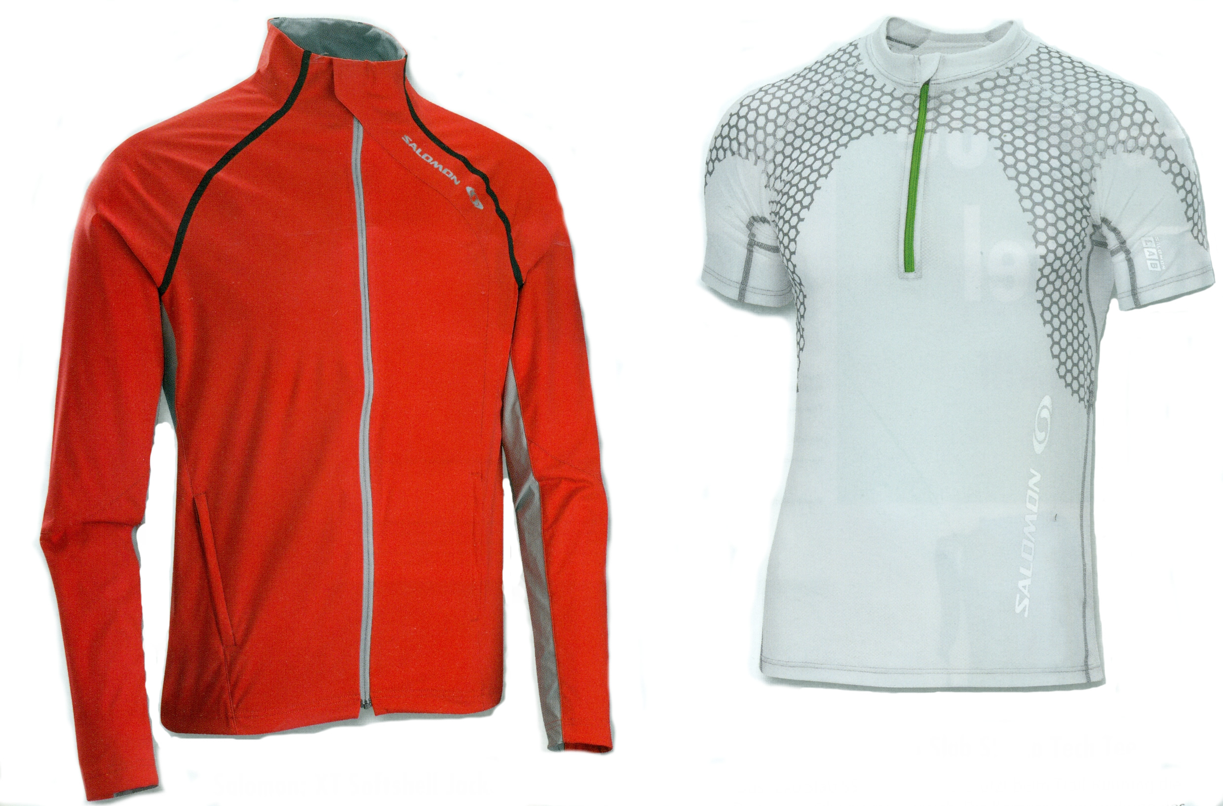 Salomon: XT Softshell Jacket & Exo Slab SS Zip Tech Tee