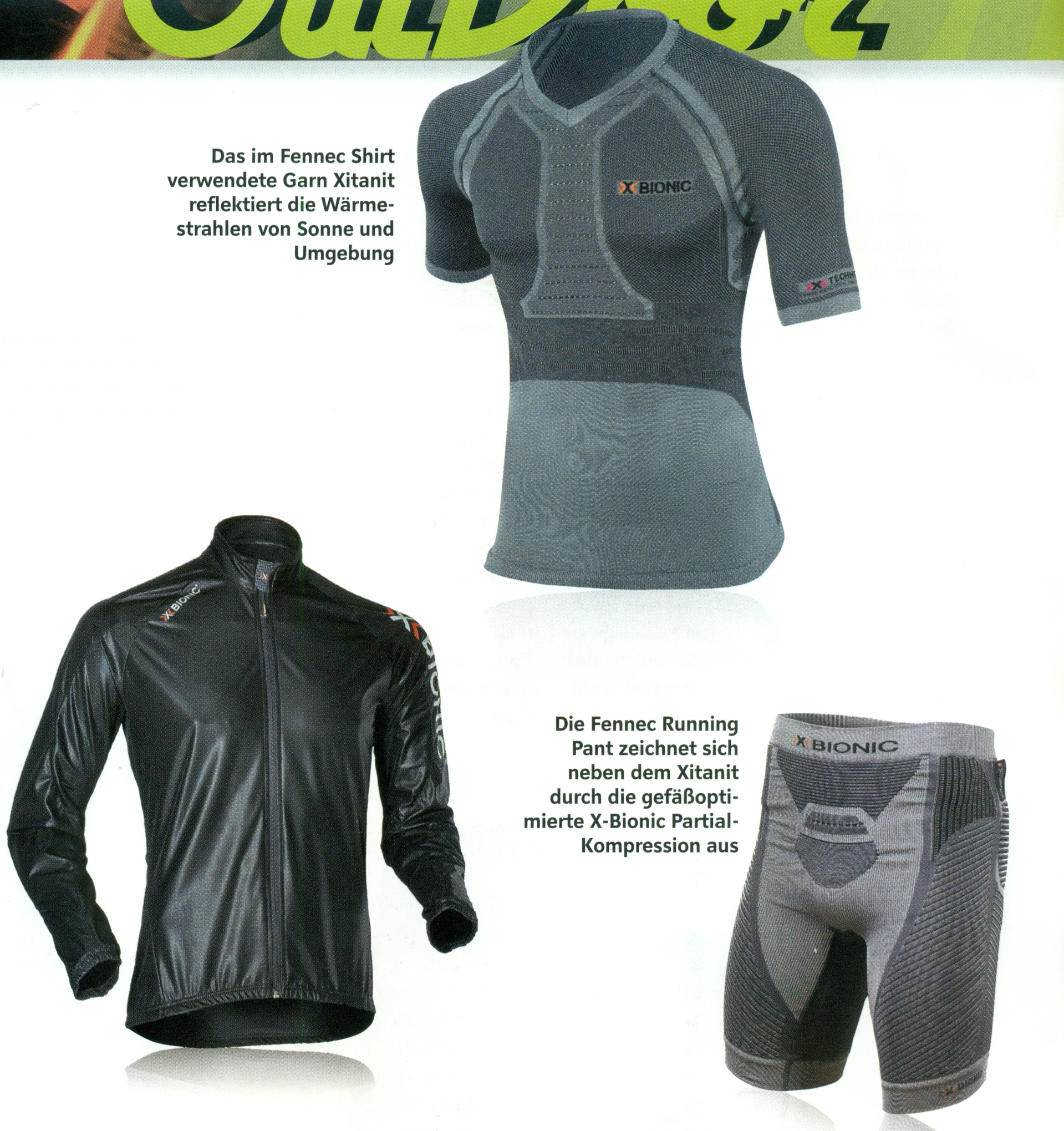 X Technology Fennec Shirt Sphere Wind jacket Fennec Running Pant